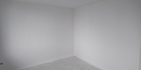 latex spuiten muur